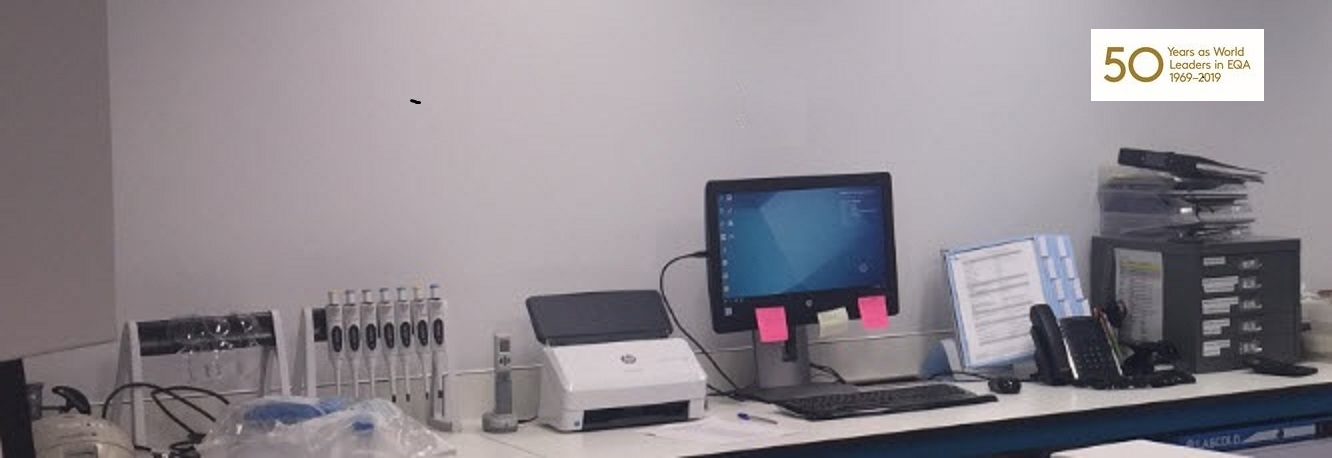 The UK NEQAS Parasitology lab